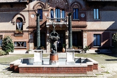 Villa Pizzi Guidoboni-(fontana) - Serafino Belloni