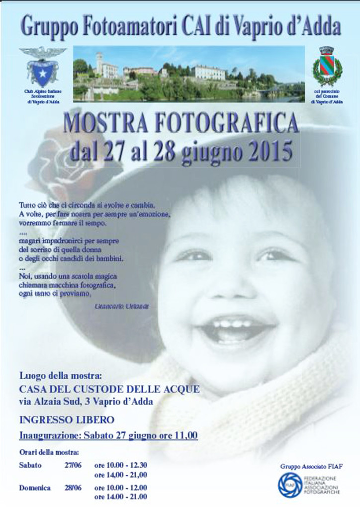 Locandina Mostra giugno 2015