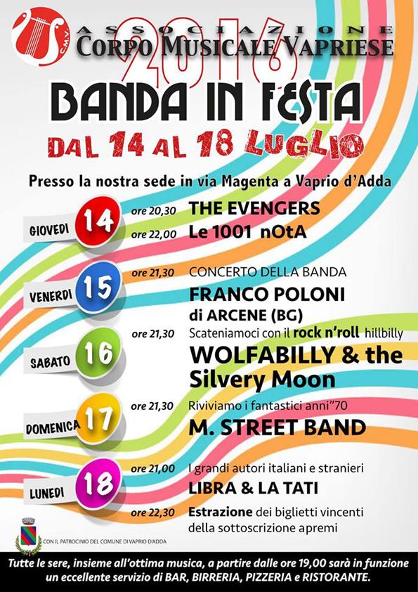 Banda in festa 2016