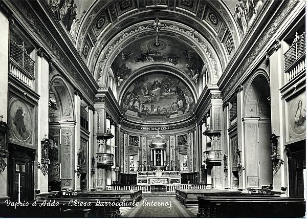 Vaprio d'Adda-Chiesa interno