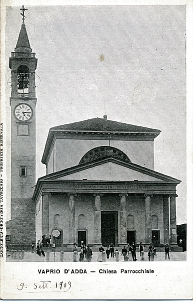 Vaprio d'Adda-chiesa 1903
