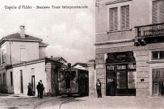 1910-Stazione Tram e Regie Poste-Archivio Rino Tinelli