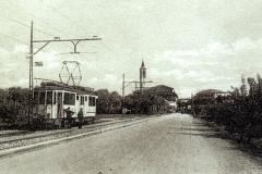 1933-Via Milano nuovo capolinea del tram- Archivio Rino Tinelli