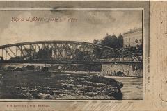 gente sotto il ponte 1900