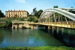 ponte e villa Melzi colore