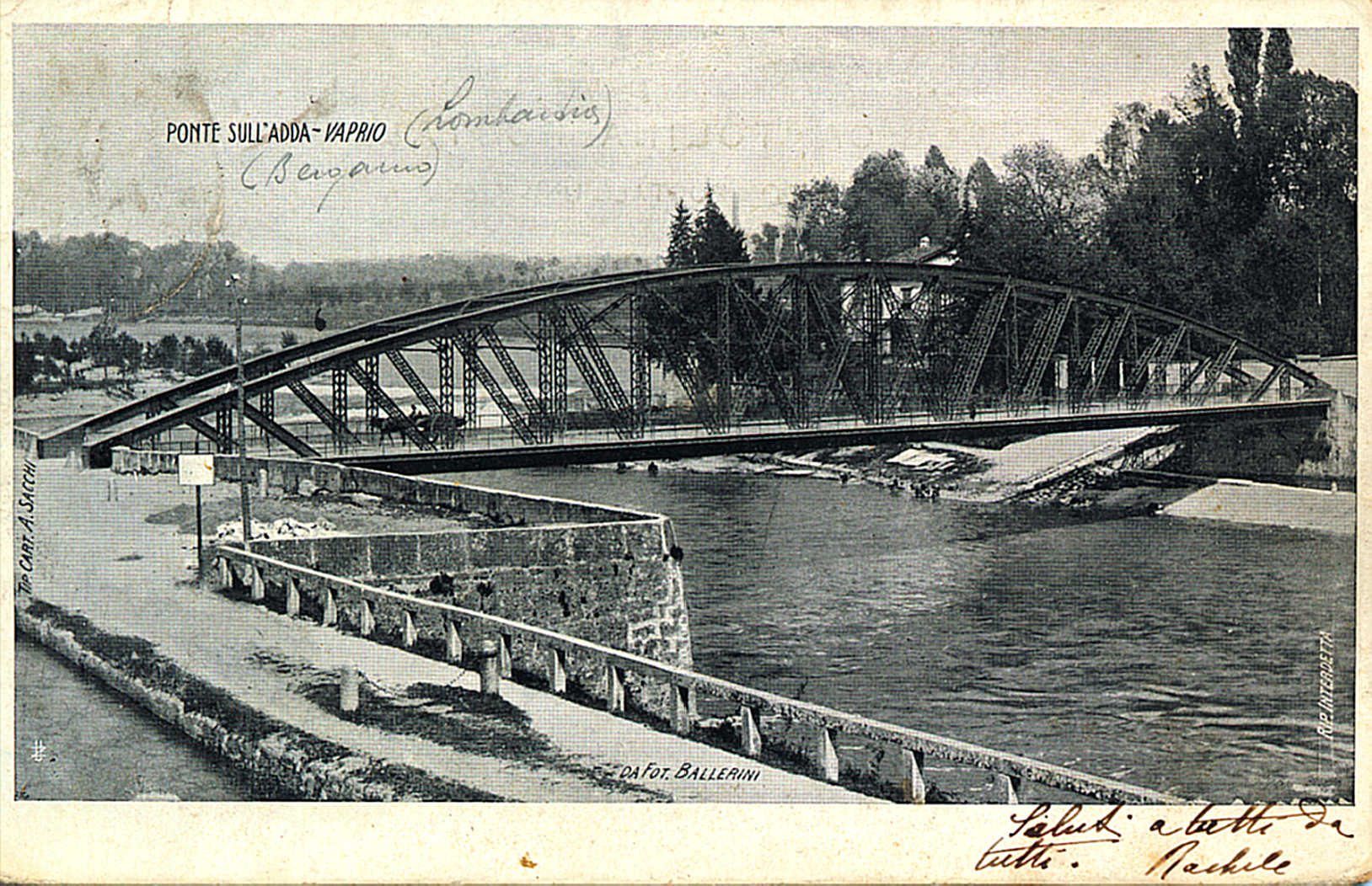 carretto sul ponte