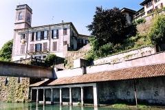 Lavatoio e villa Visconti- Ambrogio Costa