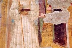 Affresco nella Chiesa di San Colombano