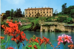 fiori e villa Melzi