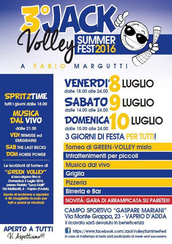 3° Jack Volley